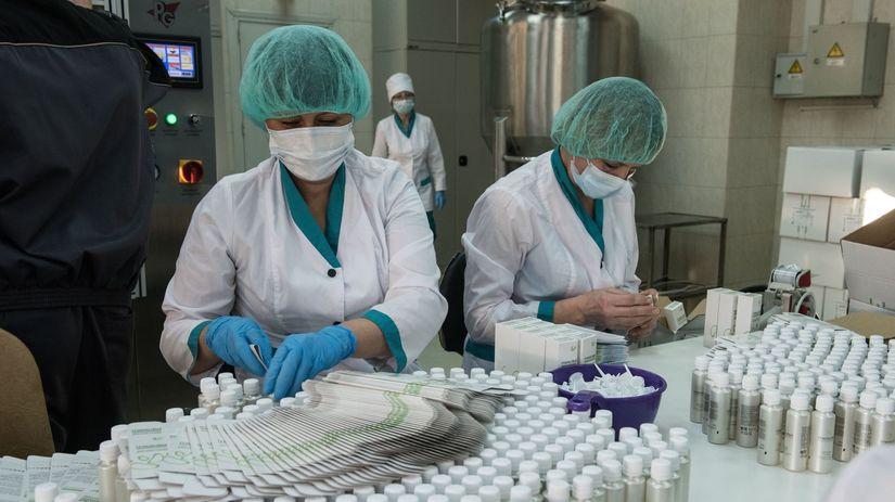 farmaceutické firmy, výskum, lieky