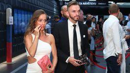 Herec Martin Šalacha s priateľkou.
