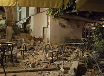 kos, zemetrasenie, grecko