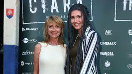 Na premiéru dorazila aj herečka Jana Hubinská a jej dcéra Sarah Hubinská.