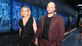 Producentka Wanda Adamik Hrycová s manželom Marekom.