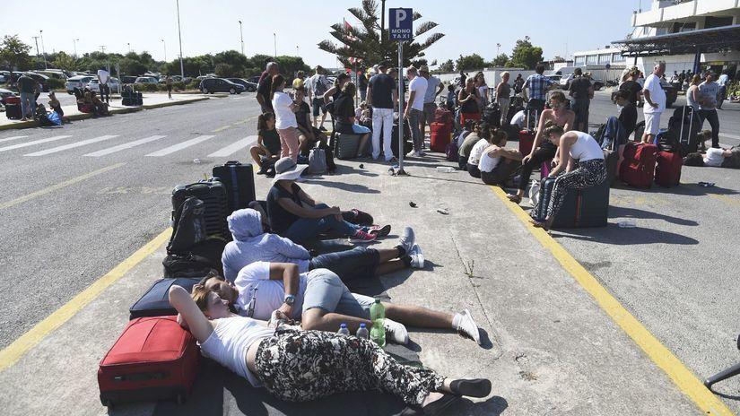Kos, Grécko, zemetrasenie