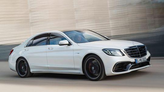 Mercedes-Benz S 63 AMG: Najrýchlejšie esko dá stovku za 3,5 sekundy!
