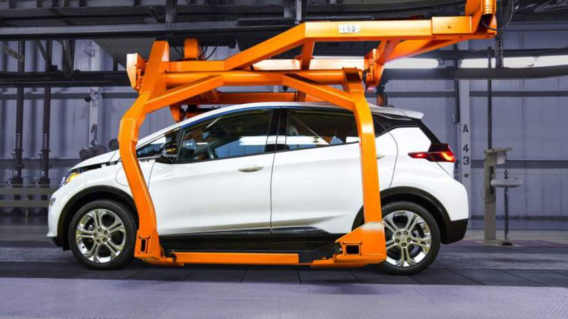 Chevrolet Bolt - produkcia