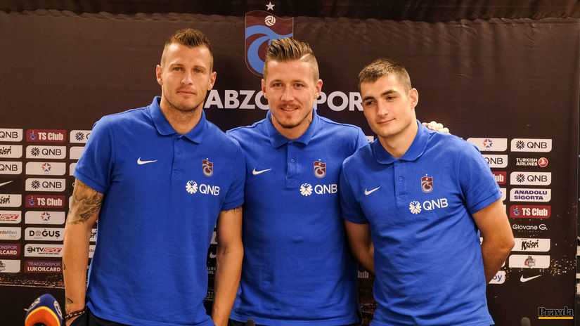 Ján Ďurica, Juraj Kucka a Matúš Bero