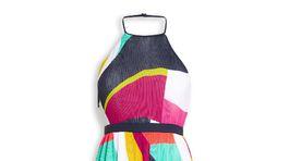 Šaty s jemným plisovaním