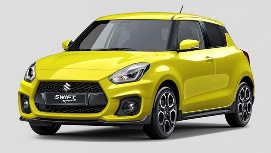 Suzuki Swift Sport: Prvá snímka je na svete