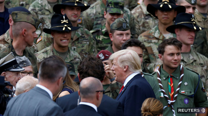 Donald Trump, Poľsko