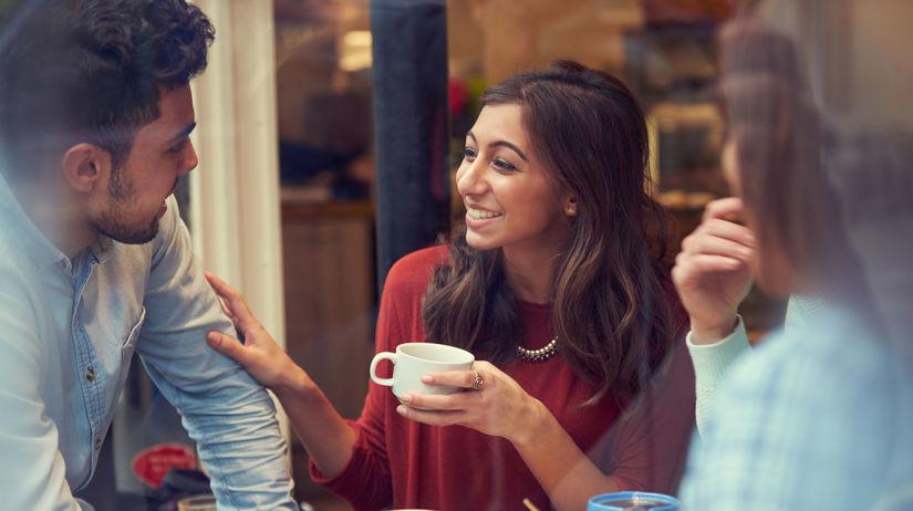 kaviareň, pitie kávy, káva
