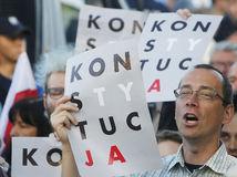 poľsko, Protest
