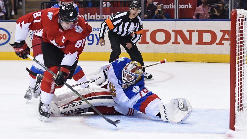 Sidney Crosby, Sergej Bobrovskij