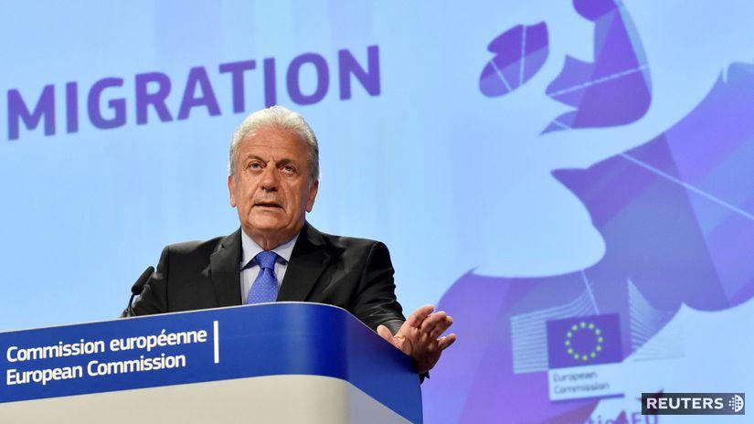 eurokomisár pre migráciu Dimitris Avramopoulos