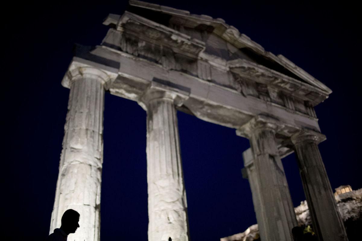 Grécko, ruina, Atény