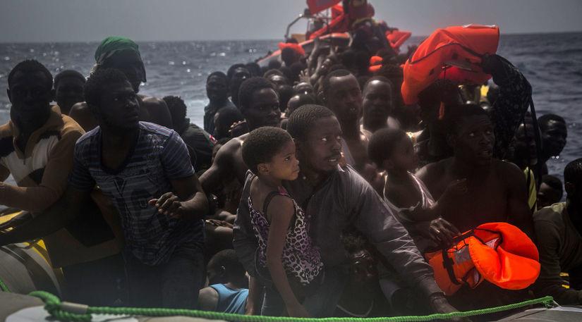 EÚ, Lýbia, migranti, more