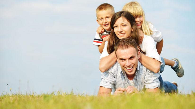 rodina, dávky, deti