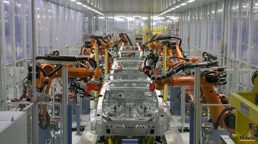 Volkswagen VW otvorenie novej karosarne Audi Q7