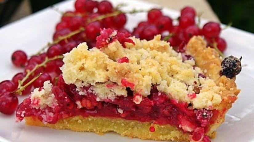 dezert, ovocný koláč