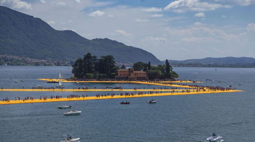 Christo: Plávajúce móla