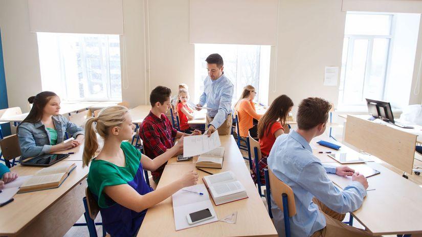 deti, škola, trieda