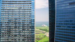 Singapur, mesto, mrakodrapy