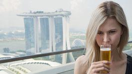Singapur, pivo, Marina Bay,