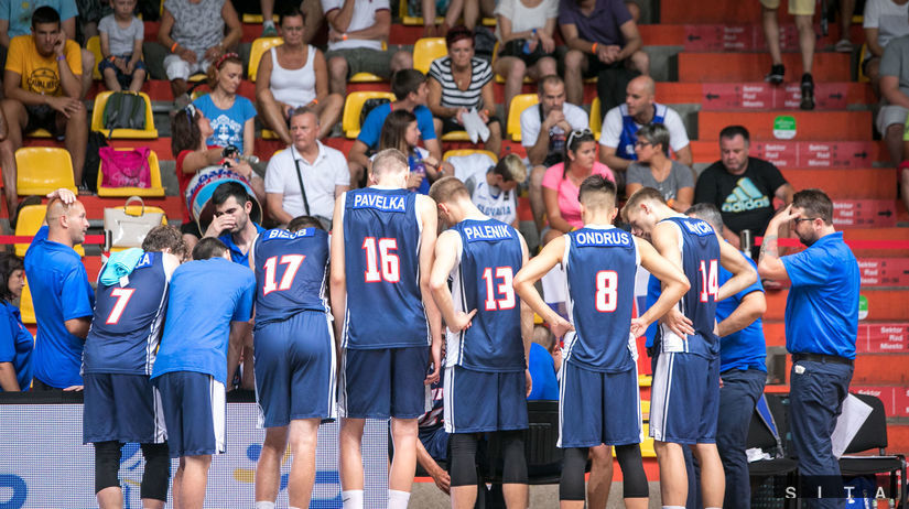 Slovenskí basketbalisti do 18 rokov