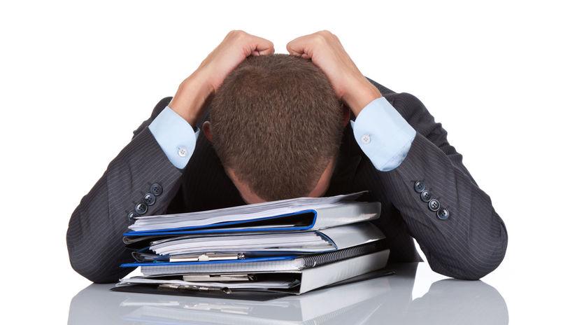 práca, stres, zamestnanie