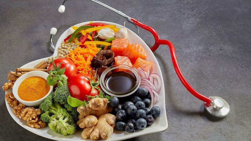 srdce, jedlo, strava, zdravie