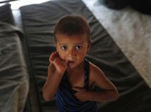 Syria, utečenci, dieťa