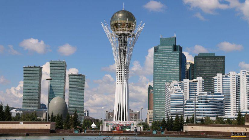 Astana, Kazachstan, NN veza