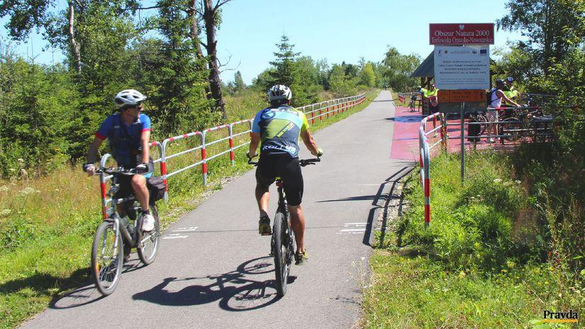 Cesta okolo Tatier, cyklotrasa, cyklisti