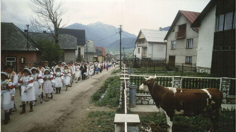 Frieder Blickle: Dedinská svadba