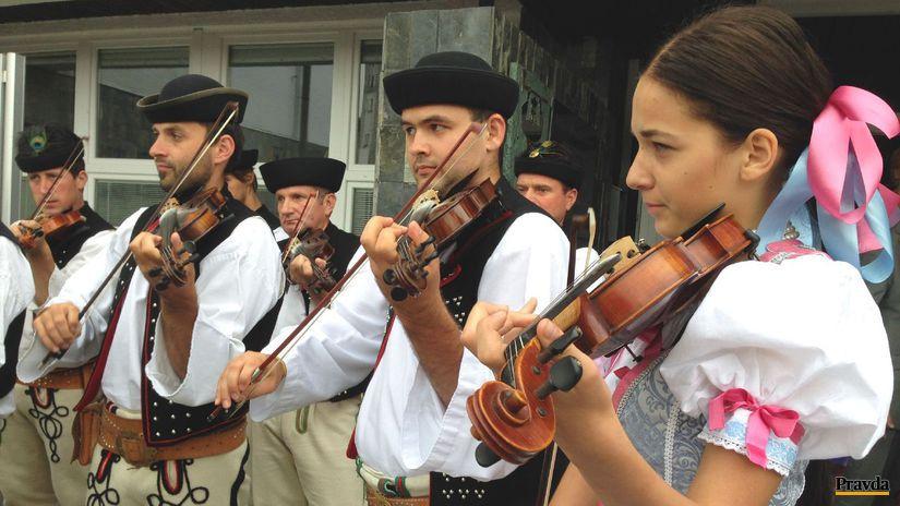 Terchovska hudba, muzika, kapela, husle, ľudové