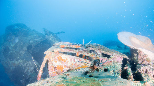 Muž našiel pri potápaní na Malorke vrak starej lode. Nález najprv neoznámil