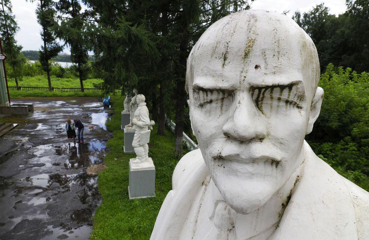 Rusko, socha, Lenin
