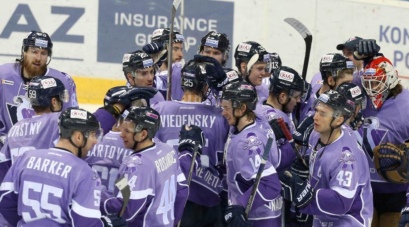 Hokej KHL Slovan-Dinamo Riga