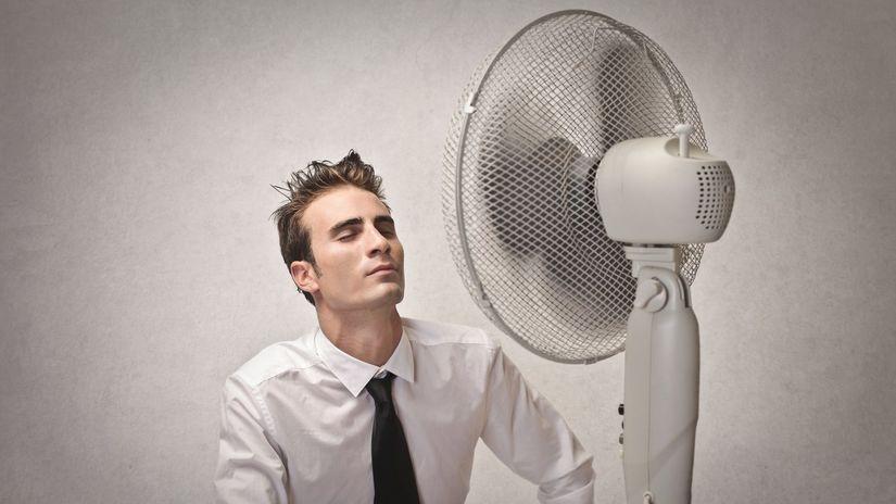 ventilator, praca, klimatizácia