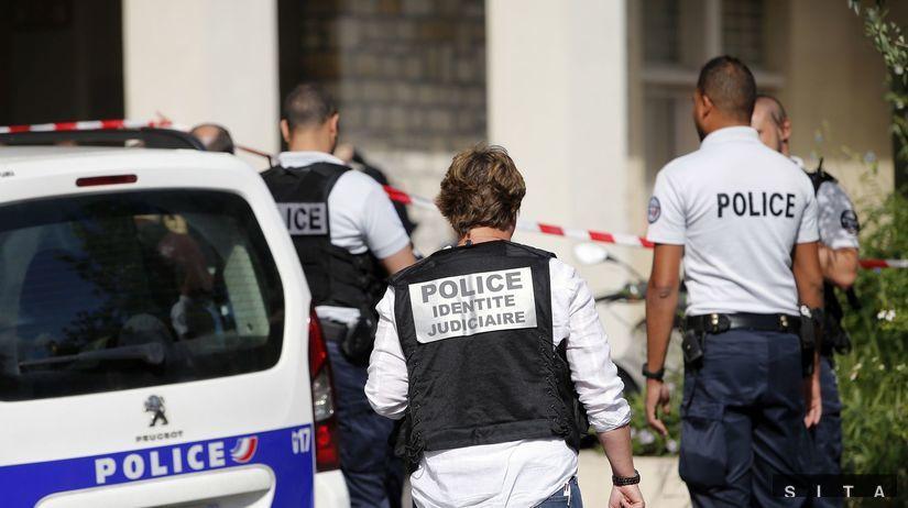 útok na vojakov autom, Francúzsko