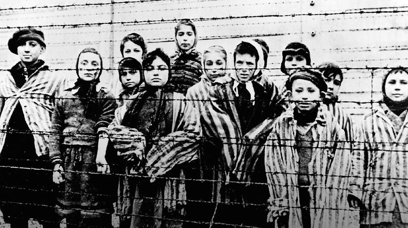 holokaust, deti, oslobodenie