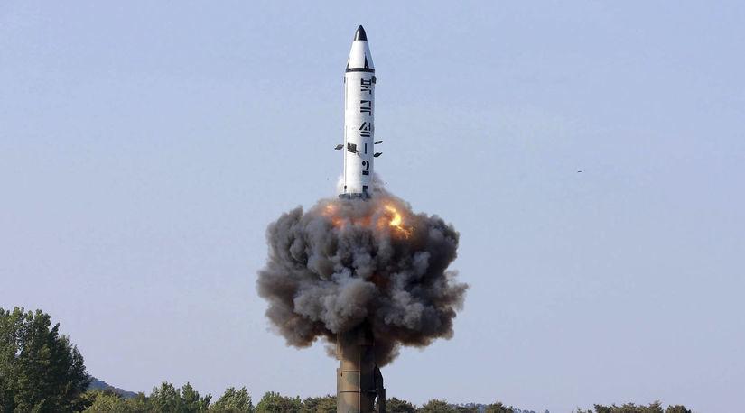 Pukguksong, raketa, kldr, severna korea
