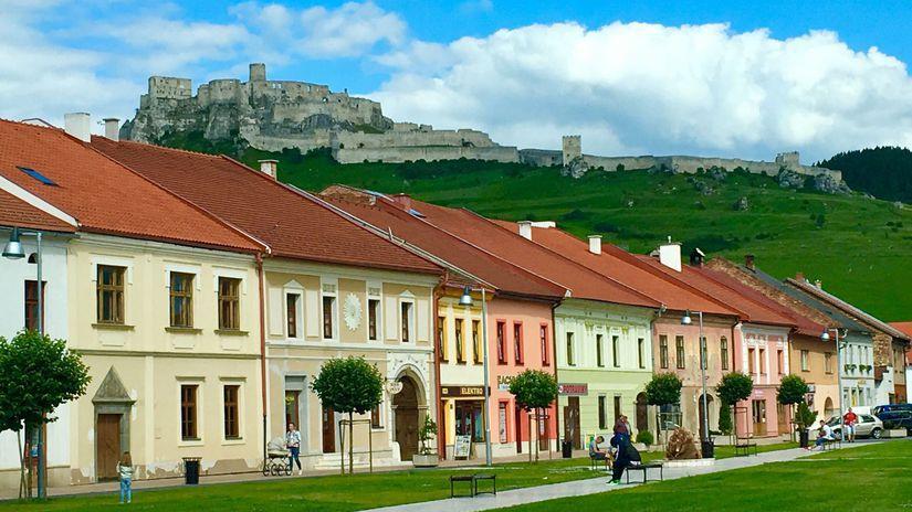 Spišský hrad, Spišské Podhradie