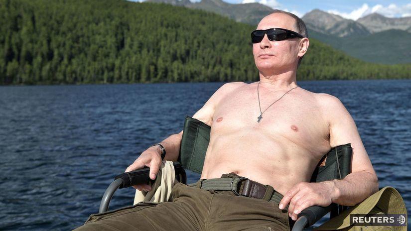 Vladimir Putin, Rusko, Sibír, rybačka