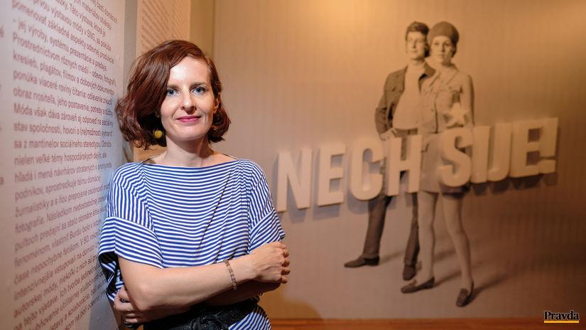 Zuzana Šidlíková, nech šije, výstava