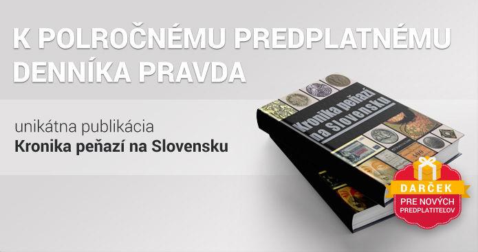Polročné predplatné s Kronikou peňazí na Slovensku