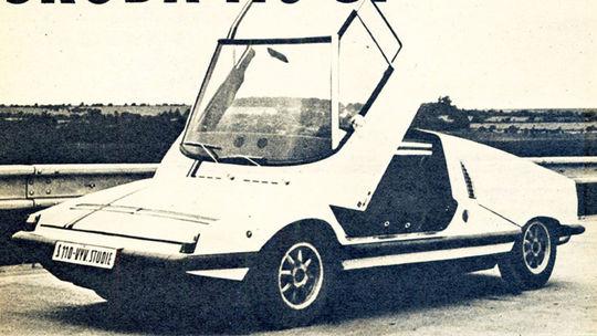 Škoda 110 Super Sport: Sen o 'českom Ferrari' má 45. Rozplynul sa na plátne