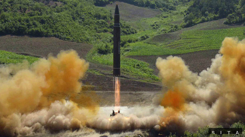 kľdr, severná kórea, raketa, balistická...