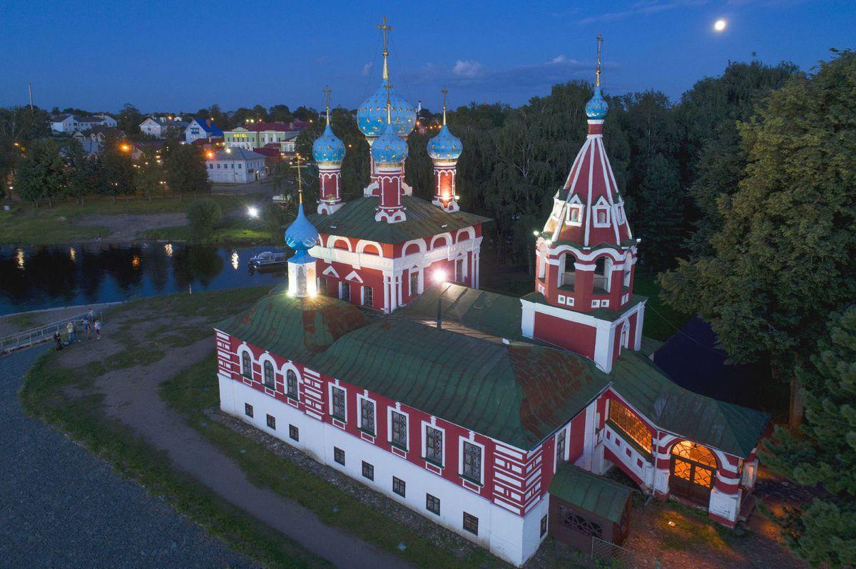 Rusko, chrám Cára Dimitrija, Uglich, kostol, pravoslávny
