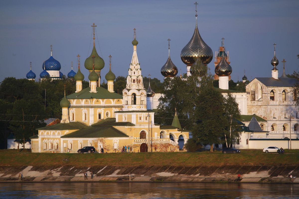 Rusko, ortodoxný kláštor, Uglich, chrám, kostol, pravoslávny