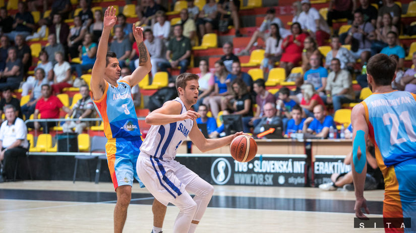 Slovensko - Arménsko, basketbal