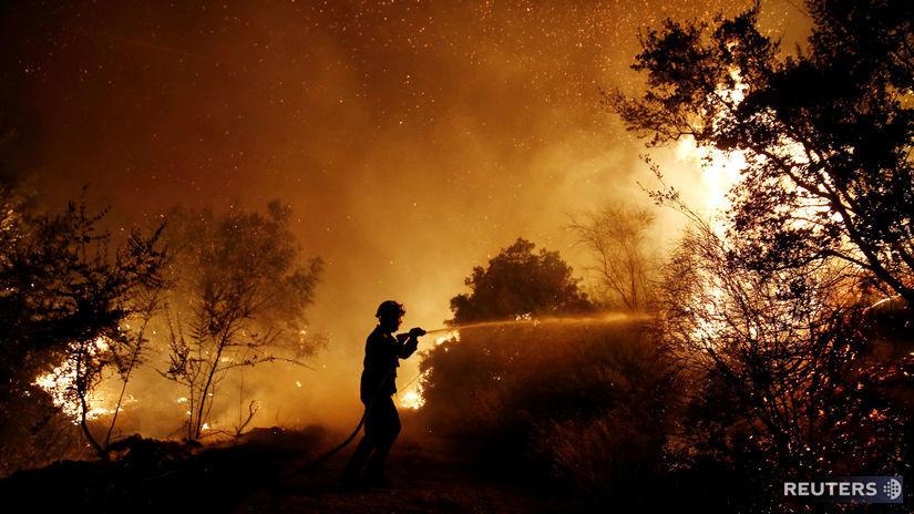Grécko, požiare